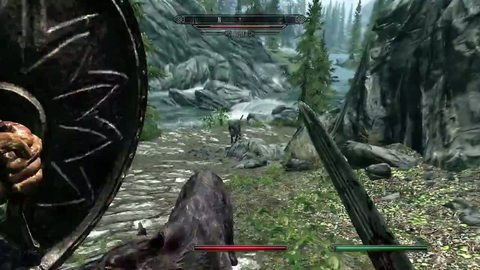 The Elder Scrolls V : Skyrim Demo Gameplay (Partie 1)