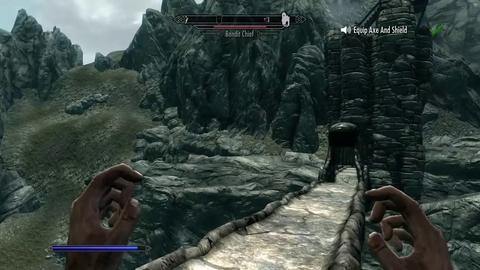 The Elder Scrolls V : Skyrim - Kinect Update
