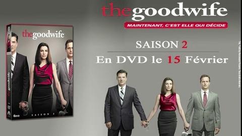 The Good Wife - Saison 2 : découvrez un extrait exclusif des bonus !