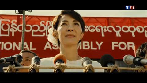 """""""The Lady"""" : l'histoire d'une rebelle birmane"""