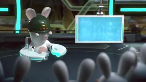 The Lapins Crétins partent en Live sur Kinect !