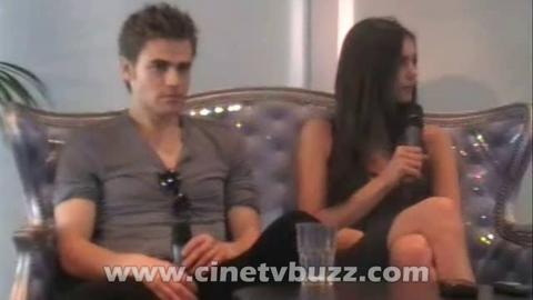 The Vampire Diaries - Spoilers Saison 2 - La plus grande menace entre Elena et Stefan (Festival TV Monte Carlo 2010)