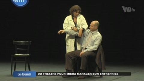 Du théâtre pour mieux manager son entreprise (Val d'Oise)