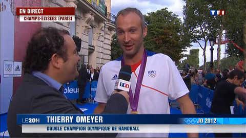 "Thierry Omeyer : ""On va bien fêter ça"""