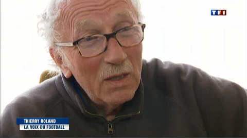 """Thierry Roland, disparition d'une """"légende"""" de la télévision"""