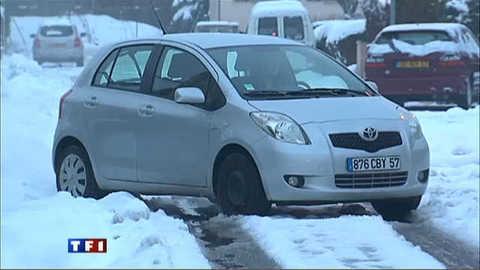 Thionville toujours paralysé par la neige