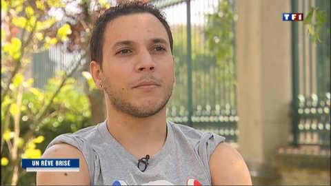 Thomas Bouhail, gymnaste au rêve brisé