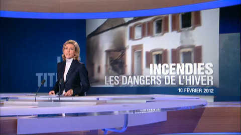 Les titres du 20 heures du 10 février 2012