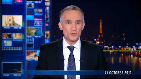 Les titres du 20 heures du 11 octobre 2012