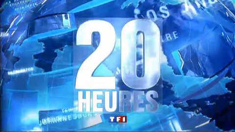 Les titres du 20 heures du 20 avril 2011