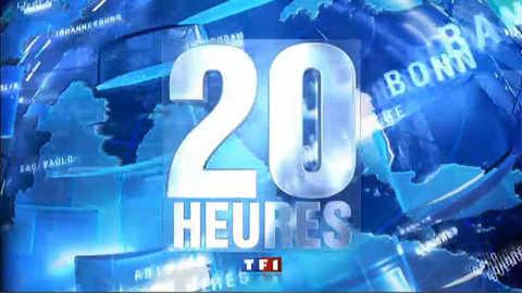 Les titres du 20 heures du 22 mai 2011
