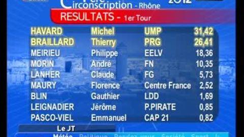 TLM - Le JT Soir du 11/06/2012