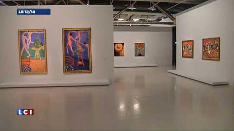 Les toiles de Matisse exposées par paires au Centre Pompidou