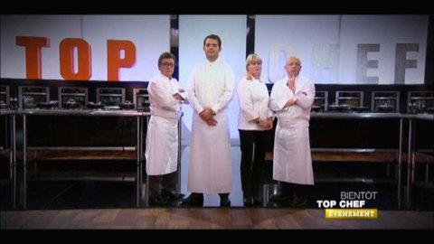 Top Chef revient sur M6! La saison 3 dès le lundi 30 janvier à 20h50 !