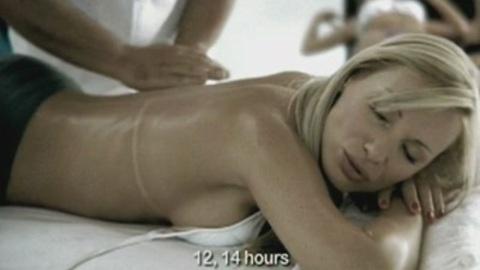 Top model massage therapist: rough job !
