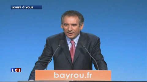 A Toulouse, Bayrou parle le béarnais