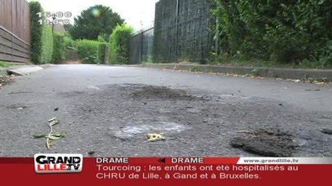 Tourcoing: 1 enfant mort, 3 autres brulés