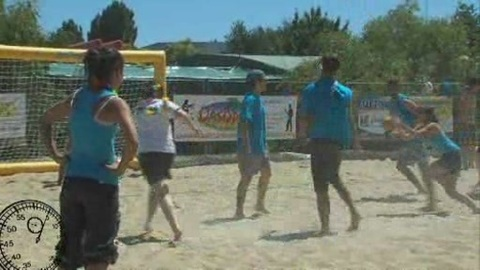Tournoi de Sandball de Pouzauges 2011