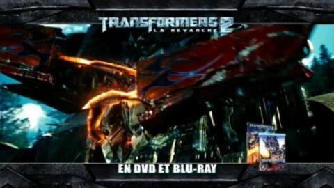 Transformers 2 en DVD  - Spot TV - lancement 20'