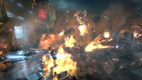 Transformers Fall of Cybertron : E3 2012 Trailer
