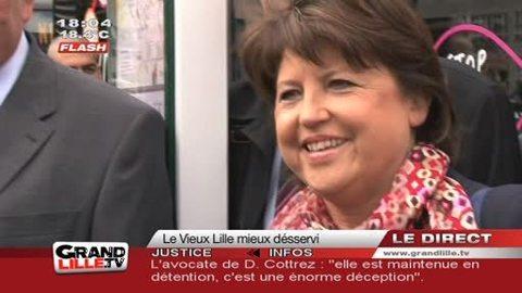 Transports : Le Vieux Lille enfin desservi par des mini bus