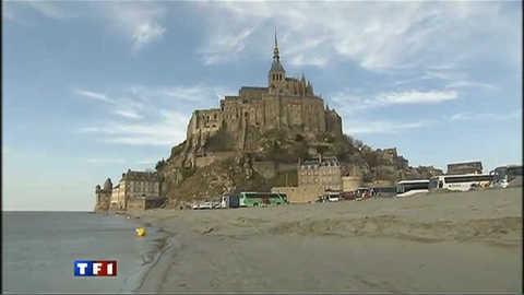 Les travaux du Mont-Saint-Michel, pour eux c'est un drame