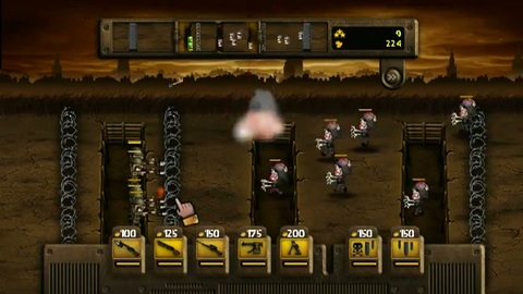 Trenches Generals - Gameplay 2 - Wii.flv