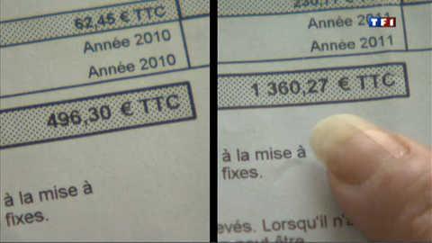 Très chères factures d'eau dans l'Orne