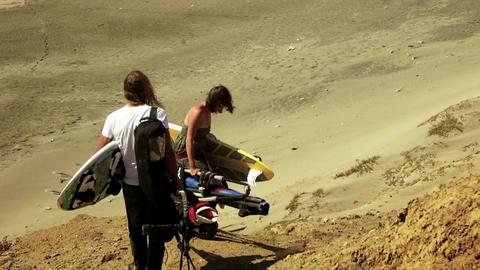 Trip windsurf sexy au Pérou avec Sylvain Demercastel, Marion Raisi et Joanna