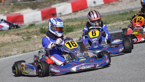 Trophée Claude Secq à Brignoles: finale KZ125 et KZ125 G.