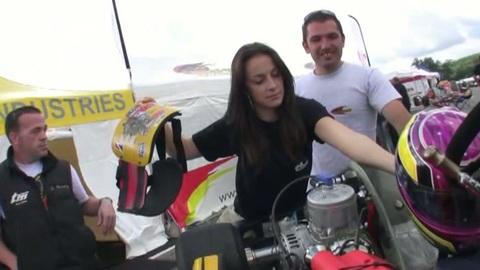 Trophée du Grand Lyon: ambiance paddock