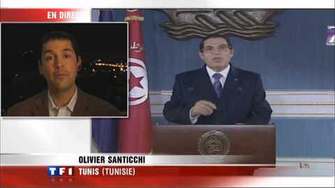 Troubles en Tunisie : les promesses de Ben Ali