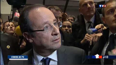 De Tulle à Paris, la nuit rose de François Hollande