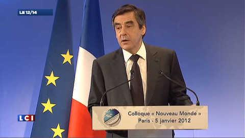 """TVA sociale : la réforme """"soumise au Parlement en février"""", selon Fillon"""