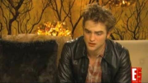 Twilight - New Moon - Interview de Robert Pattinson dans Entertainment Tonight
