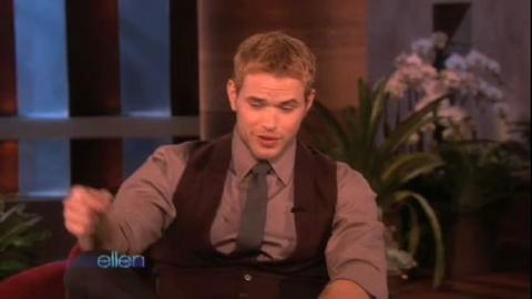 Twilight - New Moon - Interview de Kellan Lutz chez Ellen DeGeneres