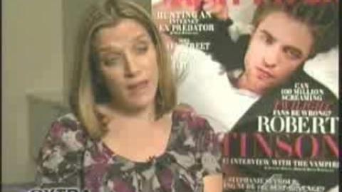 Twilight - Reportage sur Robert Pattinson dans Extra