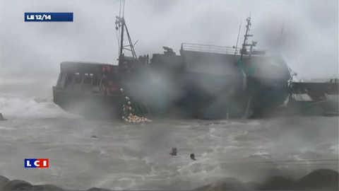 Typhon meurtier  en Asie: les images