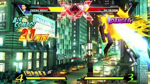 Ultimate Marvel VS Capcom 3 - Phoenix Wright Trailer - PS3 Xbox360.mp4