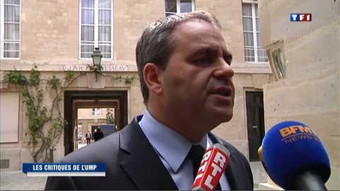 L'UMP se montre critique au lendemain de l'investiture