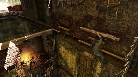 Uncharted 3 Drake's Deception - Château Gameplay 2 - PS3