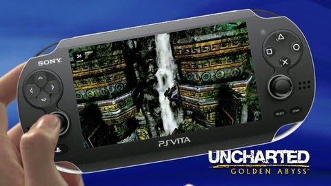 Uncharted : Golden Abyss - Trailer PS VITA