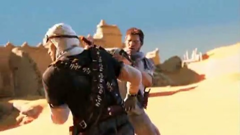 Uncharted 3 - Harrison Ford Pub Commercial Japan