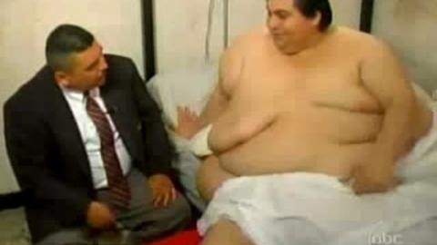 Uribe manuel, homme le plus gros du monde au régime