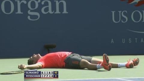 US Open: almagro vs petzschner