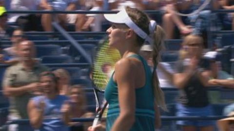 US Open: Kirilenko vs Arn