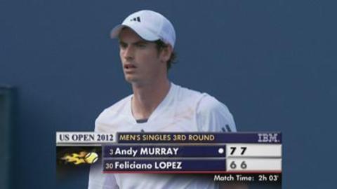 US Open: Murray vs Feliciano