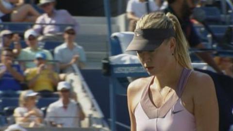 US Open: Sharapova vs Burdette