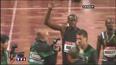 Usain Bolt, imbattable !