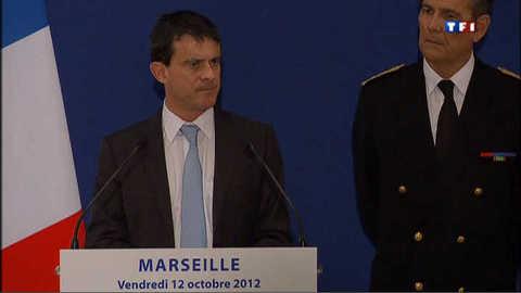 Valls réorganise la Bac de Marseille et renforce la hiérarchie